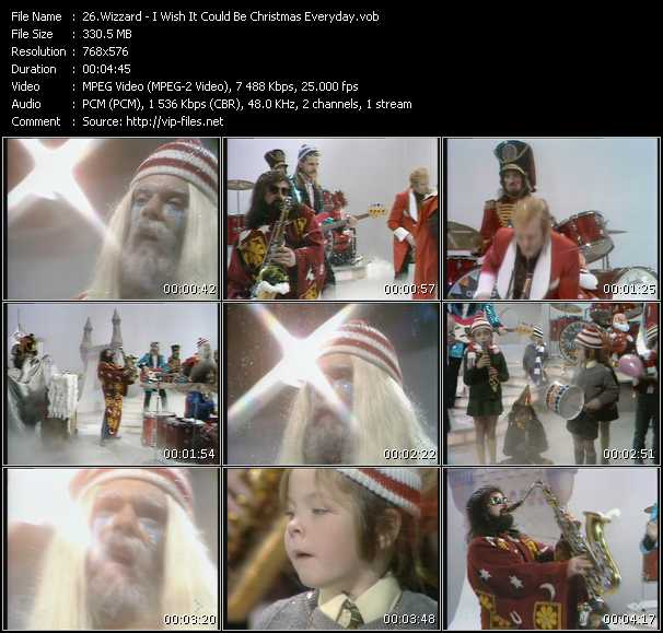 Wizzard HQ Videoclip «I Wish It Could Be Christmas Everyday»