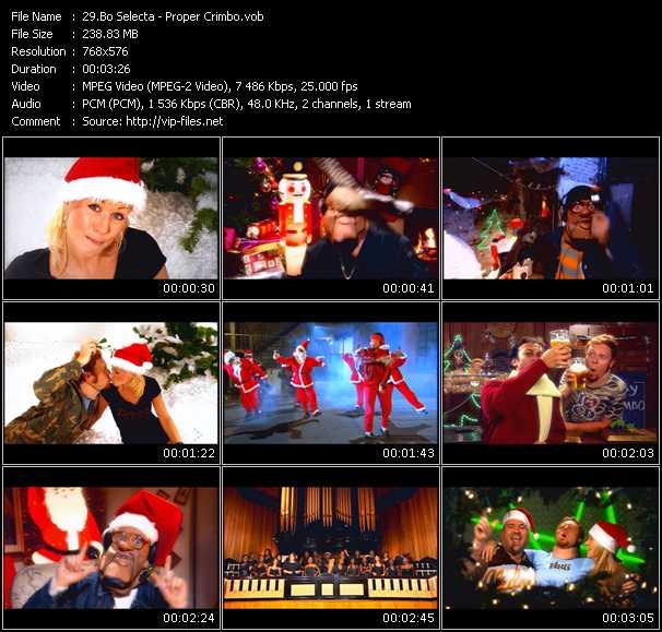 Bo Selecta HQ Videoclip «Proper Crimbo»