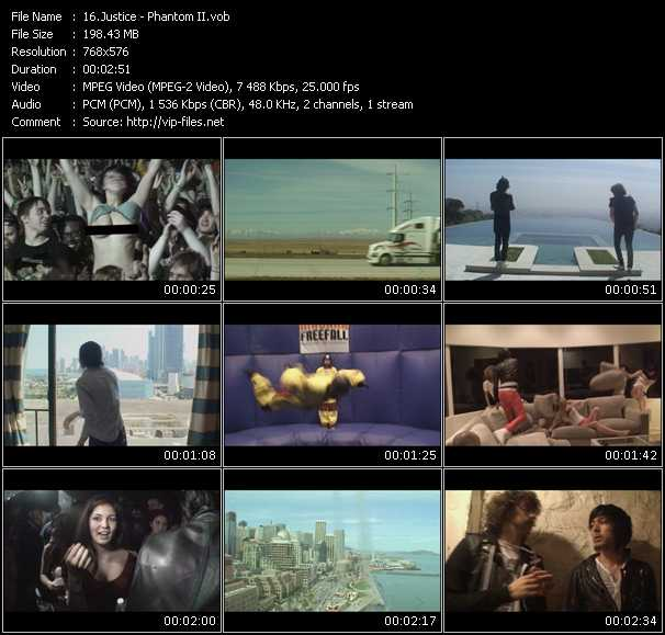 Justice HQ Videoclip «Phantom II»