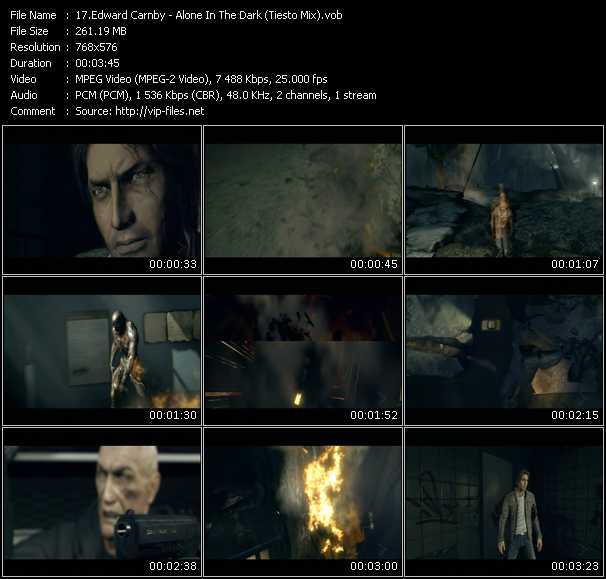 Edward Carnby HQ Videoclip «Alone In The Dark (Tiesto Mix)»