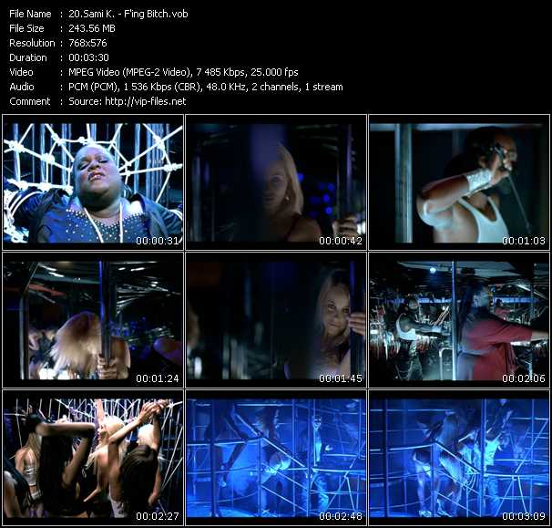 Sami K. HQ Videoclip «F'ing Bitch»