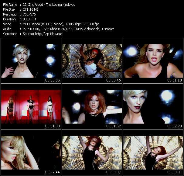 Girls Aloud HQ Videoclip «The Loving Kind»