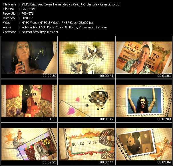 Dj Brizzi And Selma Hernandes Vs. Relight Orchestra HQ Videoclip «Remedios»