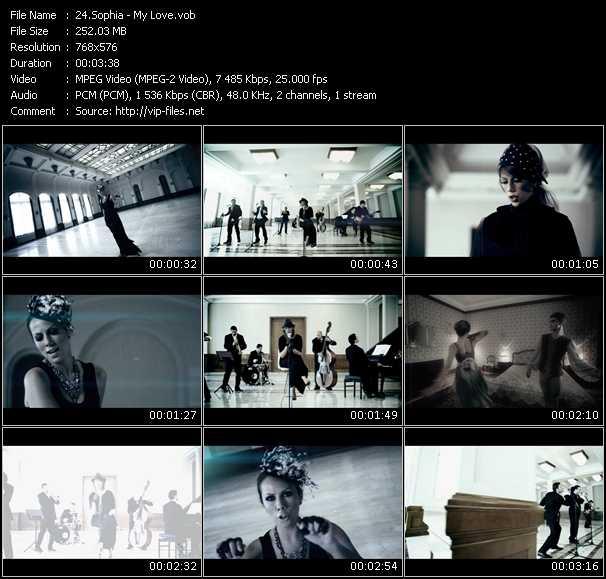 Sophia HQ Videoclip «My Love»