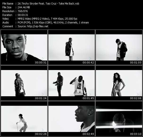 Tinchy Stryder Feat. Taio Cruz HQ Videoclip «Take Me Back»