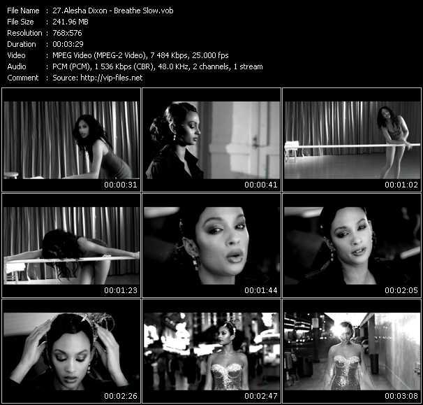 Alesha Dixon HQ Videoclip «Breathe Slow»
