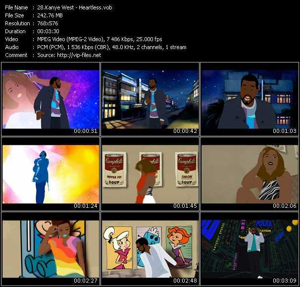 Kanye West HQ Videoclip «Heartless»