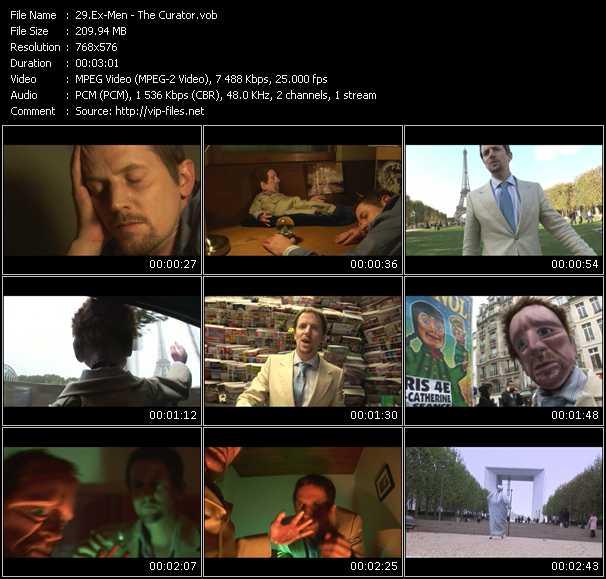 Ex-Men HQ Videoclip «The Curator»