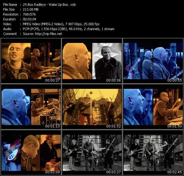 Boo Radleys HQ Videoclip «Wake Up Boo»