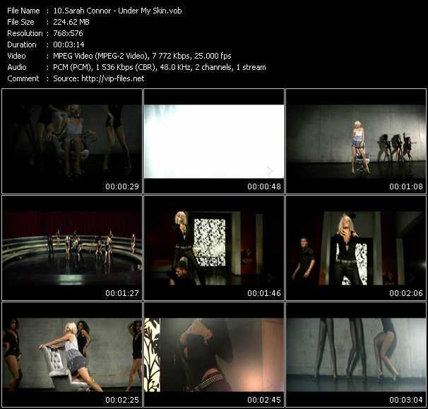 Sarah Connor HQ Videoclip «Under My Skin»