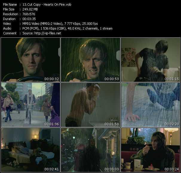 Cut Copy HQ Videoclip «Hearts On Fire»