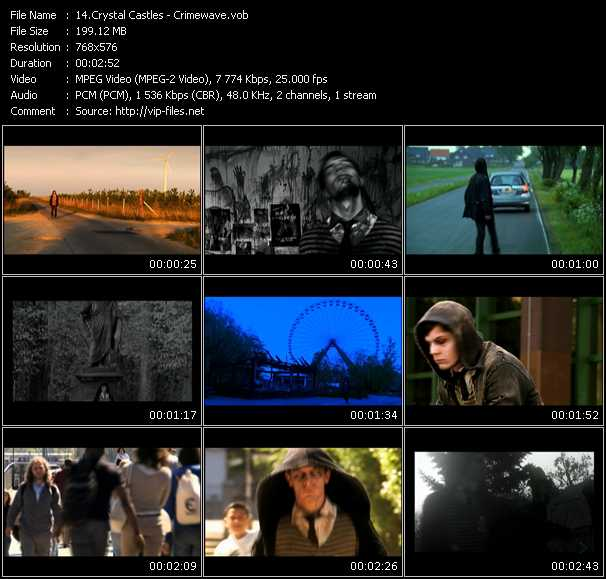 Crystal Castles HQ Videoclip «Crimewave»