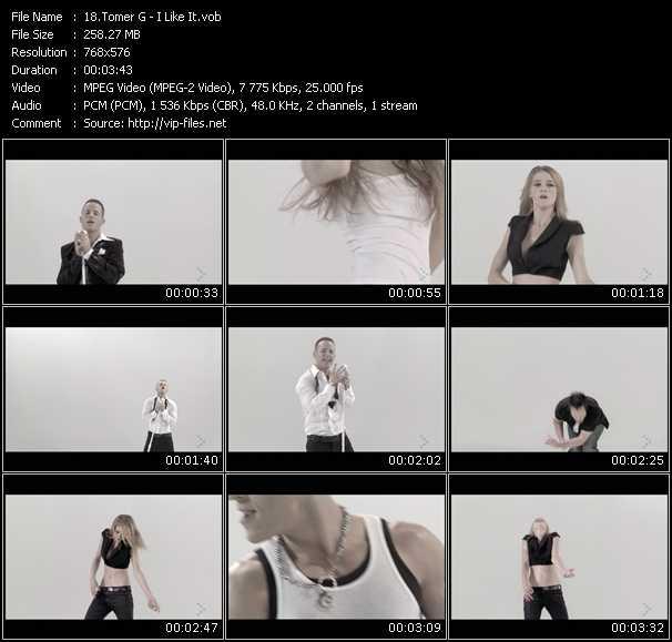 Tomer G HQ Videoclip «I Like It»