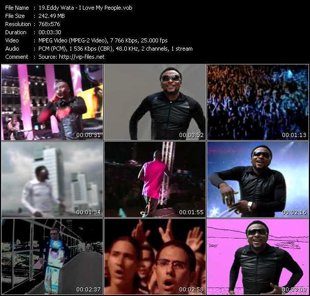 Eddy Wata HQ Videoclip «I Love My People»
