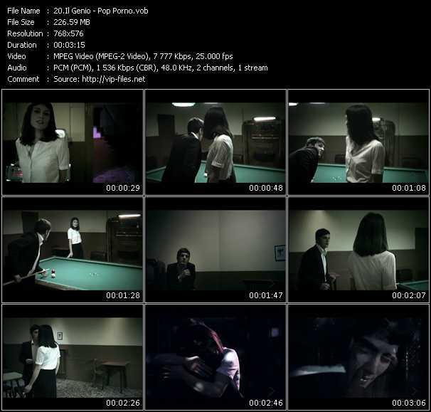 Il Genio. Год релиза. Видеоклип Pop Porno. Муз. стиль. Альбом.