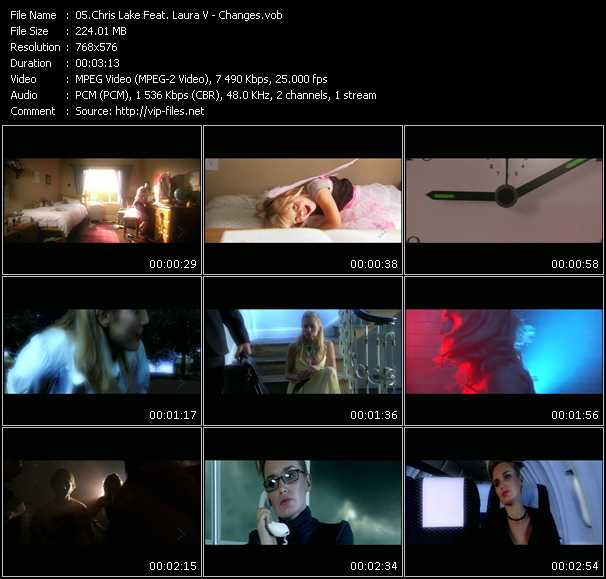 Chris Lake Feat. Laura V HQ Videoclip «Changes»