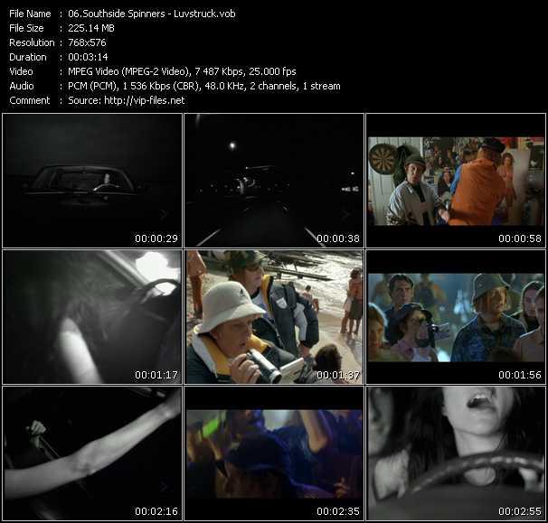 Southside Spinners HQ Videoclip «Luvstruck»