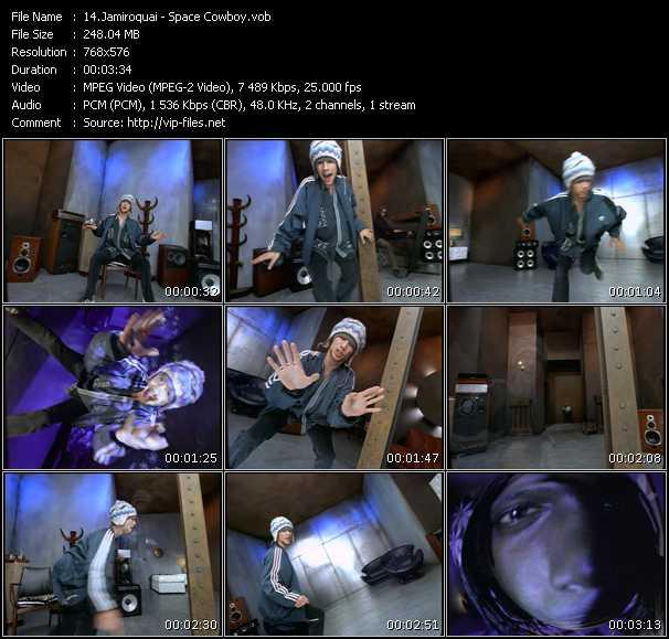 Jamiroquai HQ Videoclip «Space Cowboy»