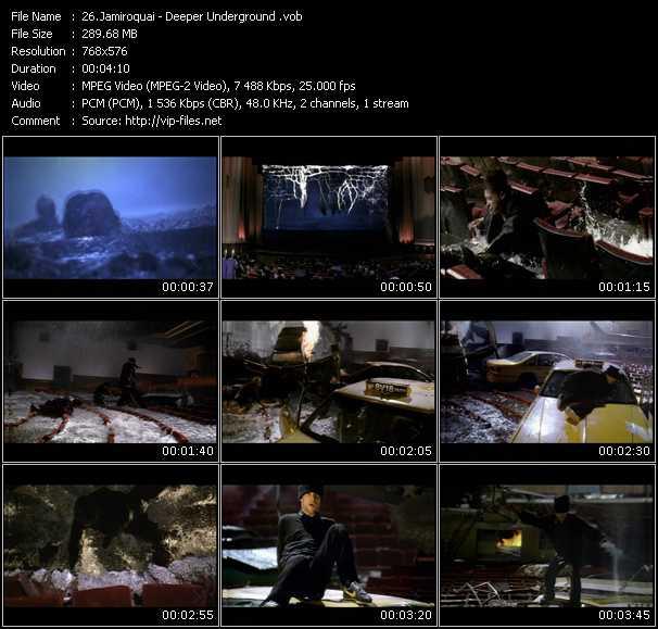 Jamiroquai HQ Videoclip «Deeper Underground»