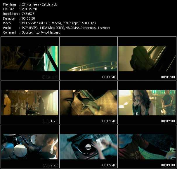 Kosheen HQ Videoclip «Catch»
