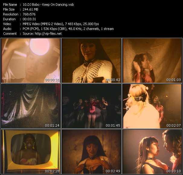 Dj Bobo video - Keep On Dancing