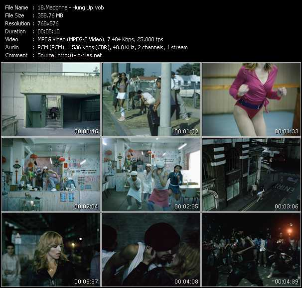 Madonna HQ Videoclip «Hung Up»