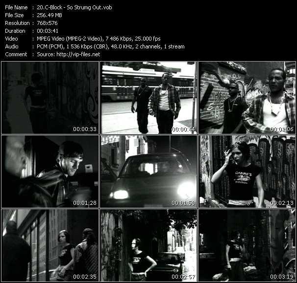 C-Block HQ Videoclip «So Strumg Out»