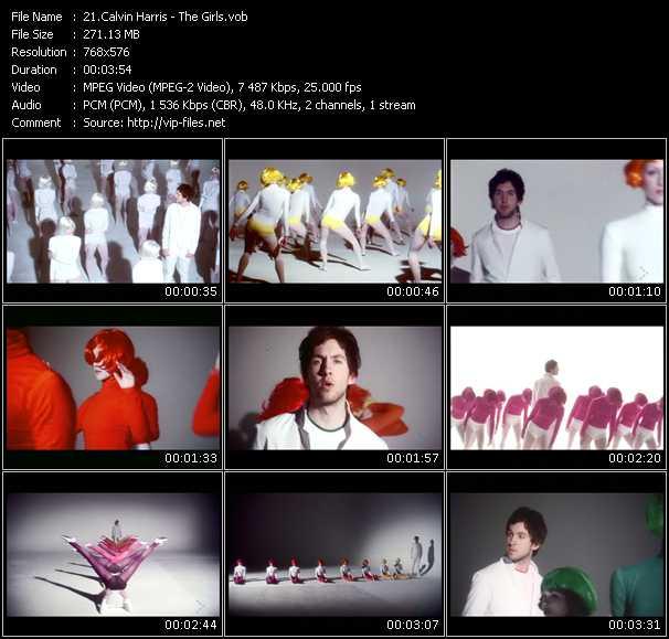 Calvin Harris HQ Videoclip «The Girls»