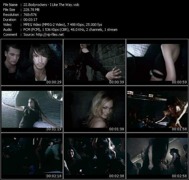 Bodyrockers HQ Videoclip «I Like The Way»