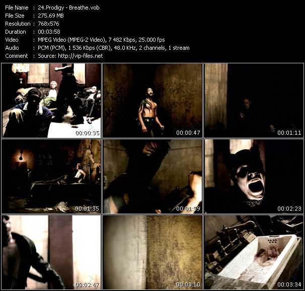 Prodigy HQ Videoclip «Breathe»