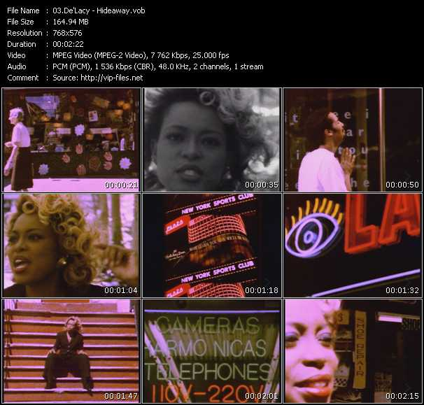De'lacy HQ Videoclip «Hideaway»