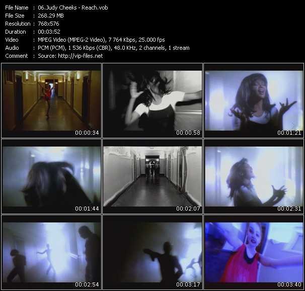 Judy Cheeks HQ Videoclip «Reach»