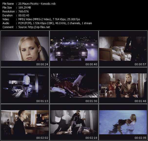 Mauro Picotto HQ Videoclip «Komodo»