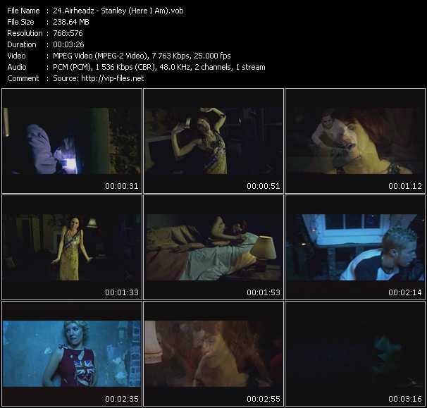 Airheadz HQ Videoclip «Stanley (Here I Am)»