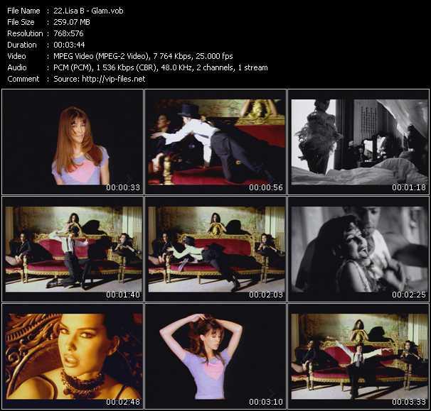Lisa B HQ Videoclip «Glam»