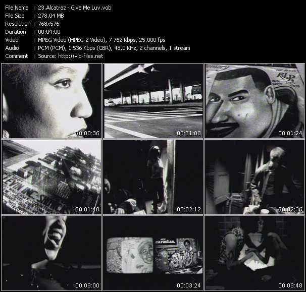 Alcatraz HQ Videoclip «Give Me Luv»
