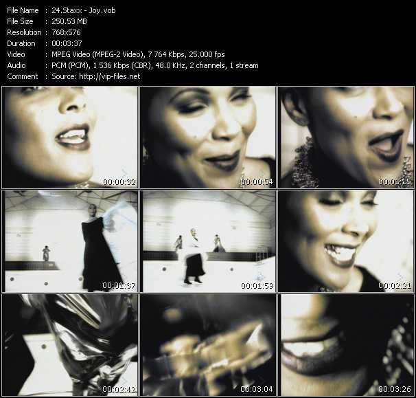 Staxx HQ Videoclip «Joy»