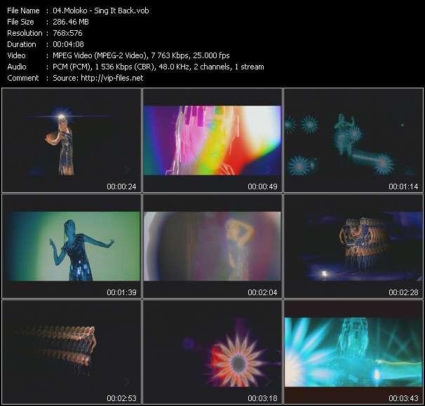 Moloko HQ Videoclip «Sing It Back»