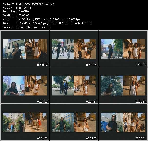 3 Jays HQ Videoclip «Feeling It Too»