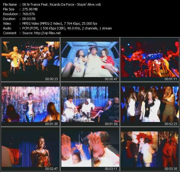 N-Trance HQ Videoclip «Stayin' Alive»