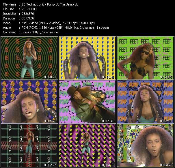 Technotronic HQ Videoclip «Pump Up The Jam»