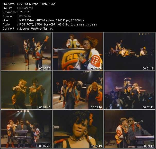 Salt-N-Pepa HQ Videoclip «Push It»