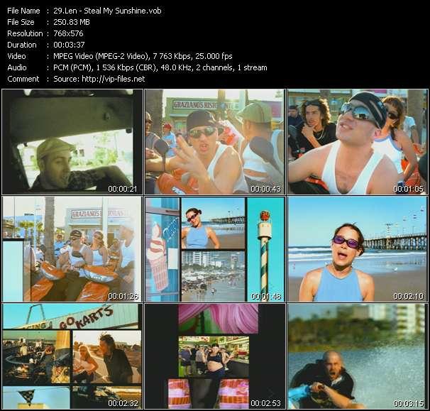 Len HQ Videoclip «Steal My Sunshine»