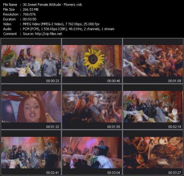 Sweet Female Attitude HQ Videoclip «Flowers»