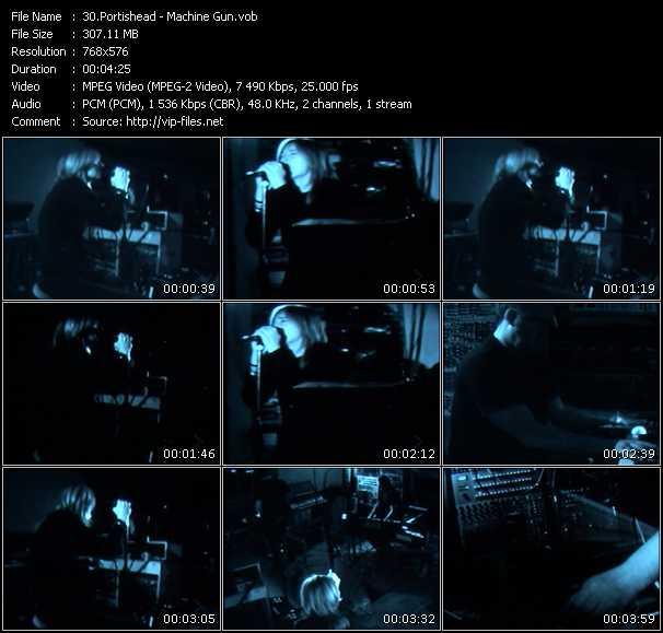 Portishead HQ Videoclip «Machine Gun»
