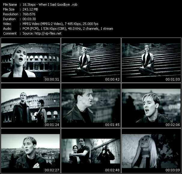 Steps HQ Videoclip «When I Said Goodbye»
