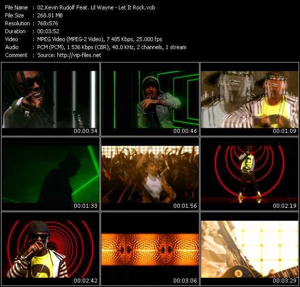 Kevin Rudolf Feat. Lil' Wayne HQ Videoclip «Let It Rock»