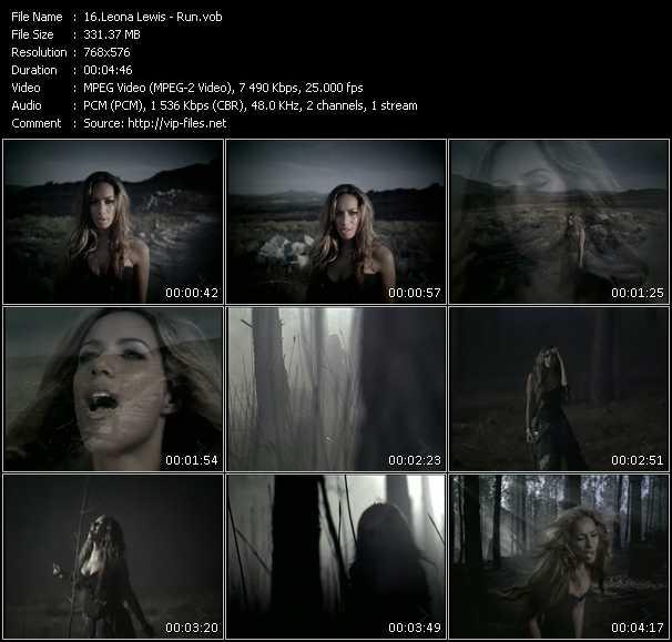 Leona Lewis HQ Videoclip «Run»