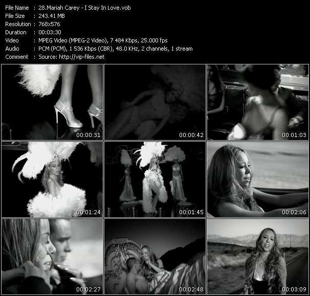 Mariah Carey HQ Videoclip «I Stay In Love»