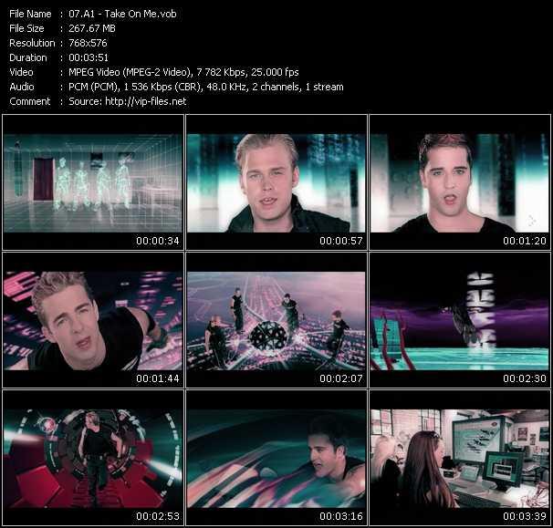 A1 video - Take On Me